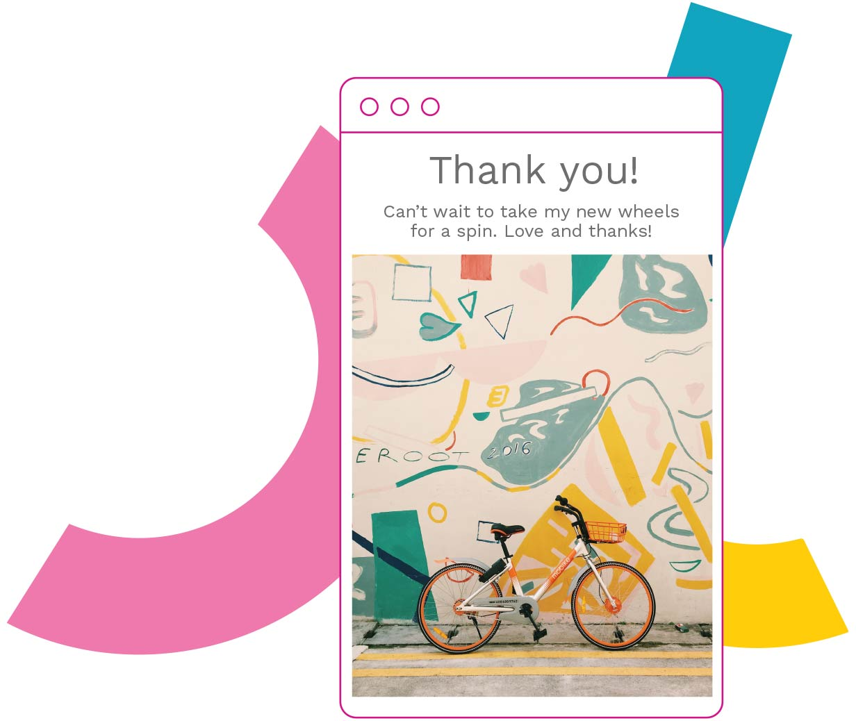 Saying thankyou with Patchwork