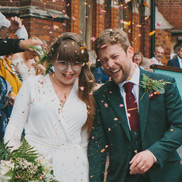 Bea & Robbie's Intimate London Wedding