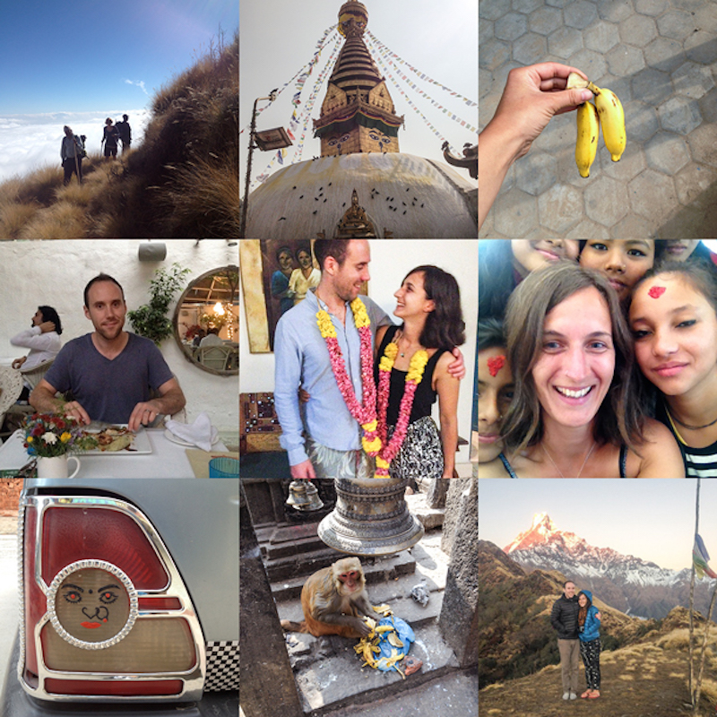 India and Nepal Honeymoon Patchwork gift list