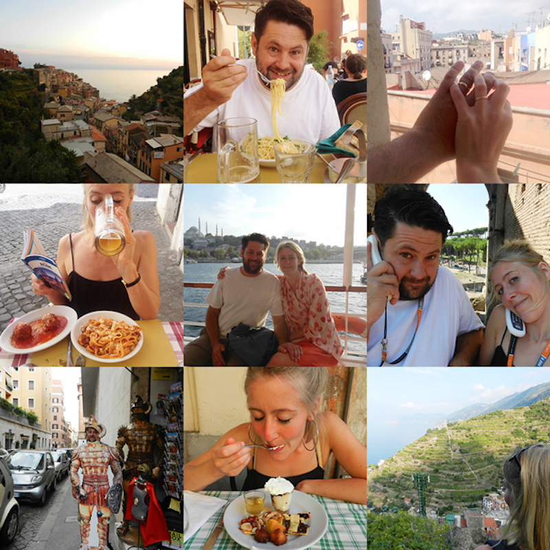 Romantic European Adventure Patchwork Honeymoon