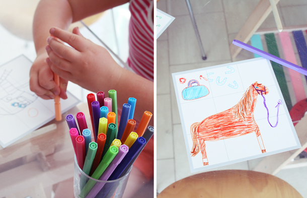kids draw their dream birthday gifts