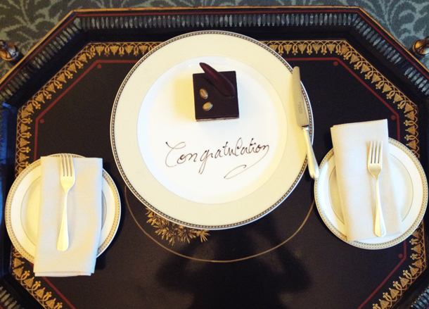 extra special wedding night Savoy Hotel