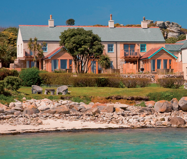 Brick cottage by sea - Scilly Isles unique familymoon idea