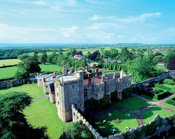 Thornbury Castle - unique familymoon ideas