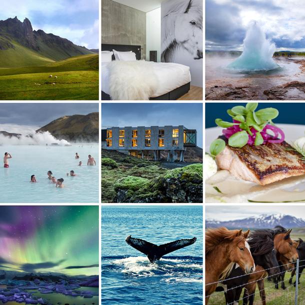 Adventure in Iceland honeymoon patchwork