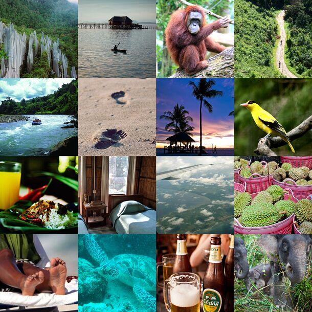 Sri Lanka honeymoon gift list patchwork