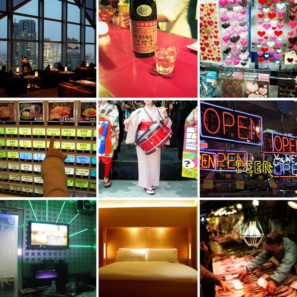 Tokyo honeymoon patchwork