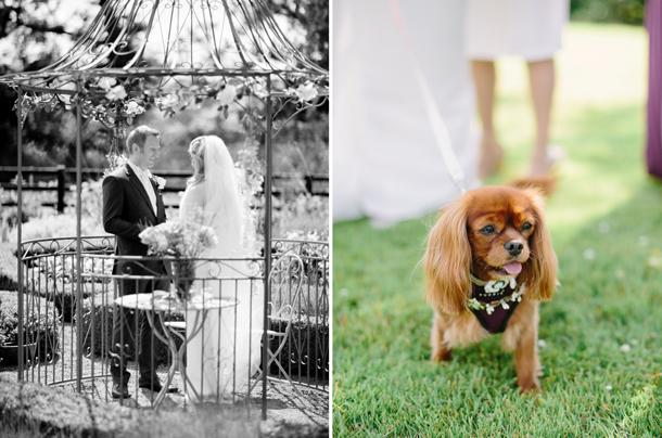DIY patchwork wedding day
