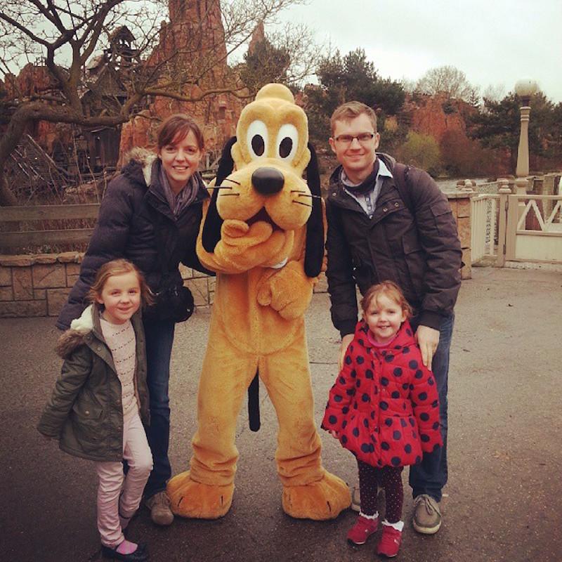 fun filled familymoon Disneyland