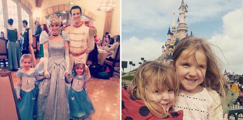 fun filled Disneyland familymoon