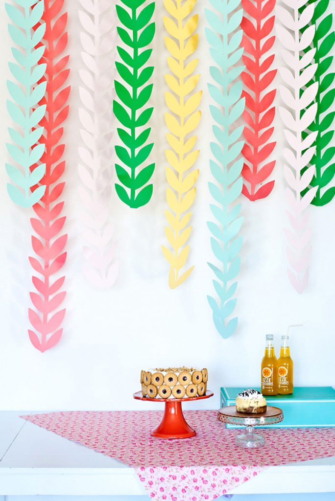 colourful diy patchwork party decoration ideas