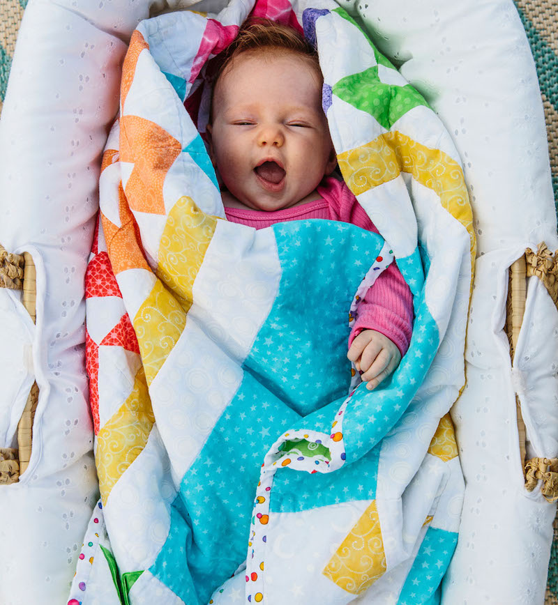 Baby shower planning patchwork