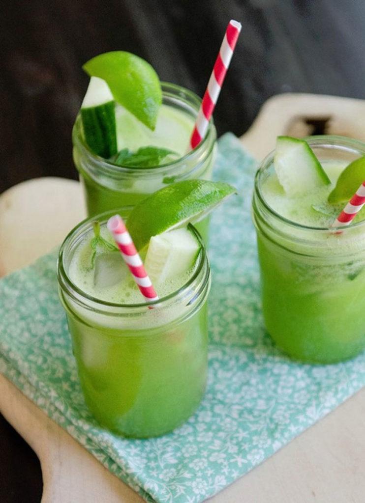 mint-cucumber-mocktail-baby-shower-drink