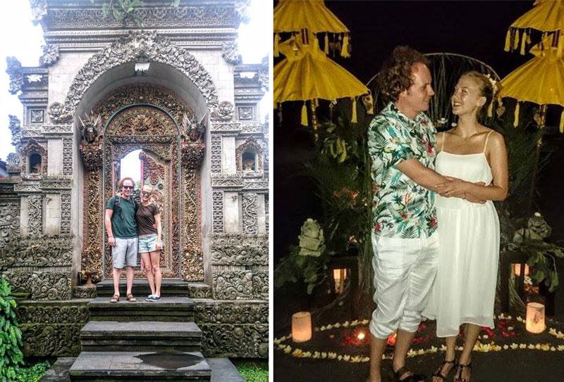 bali honeymoon fund