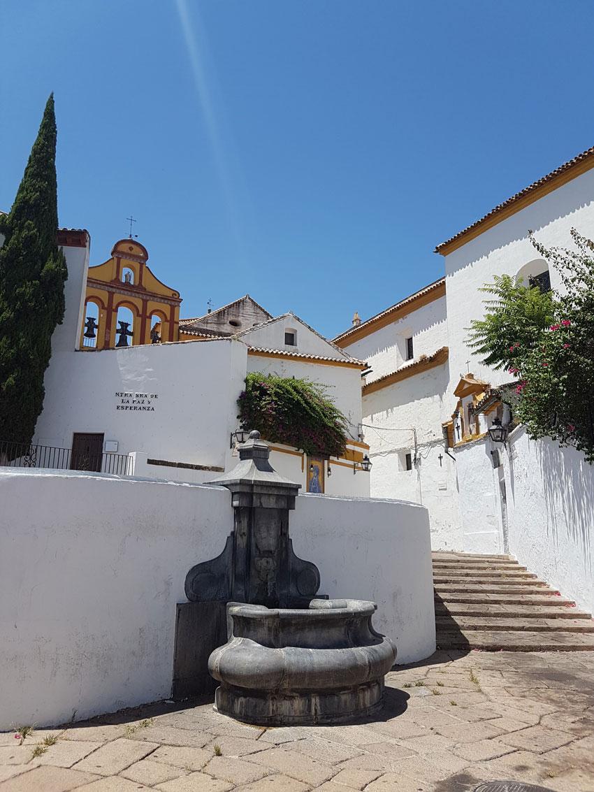 Spanish town, Patchwork honeymoon fund
