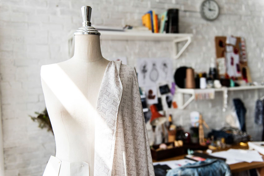 fabric-draped-over-a-mannequin