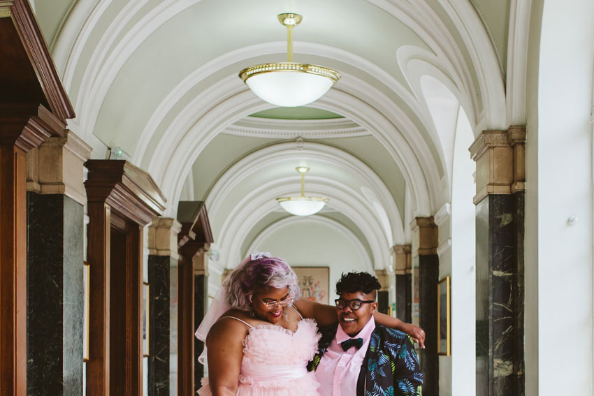 lesbian-couple-smiling-lgbt-wedding-london