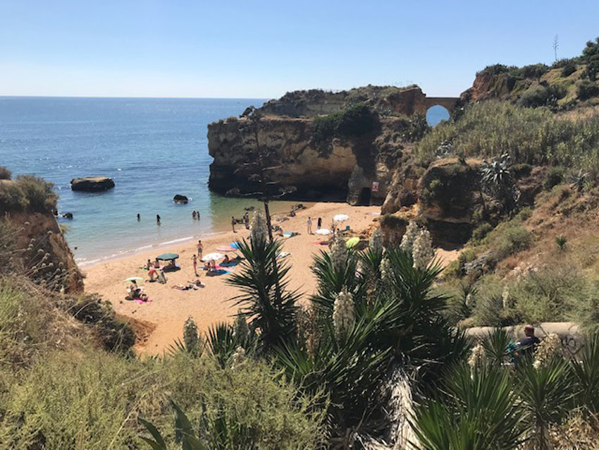 portugal beach honeymoon funded by patchwork