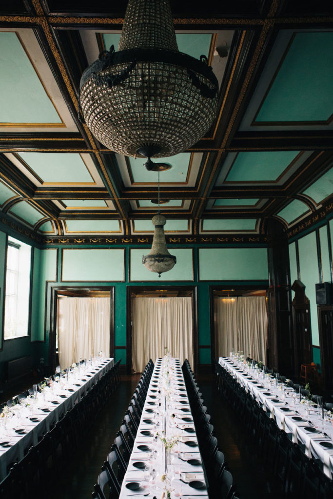 stylish east london wedding venue