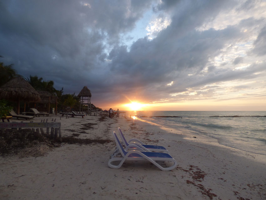 sunset beach mexico honeymoon fund