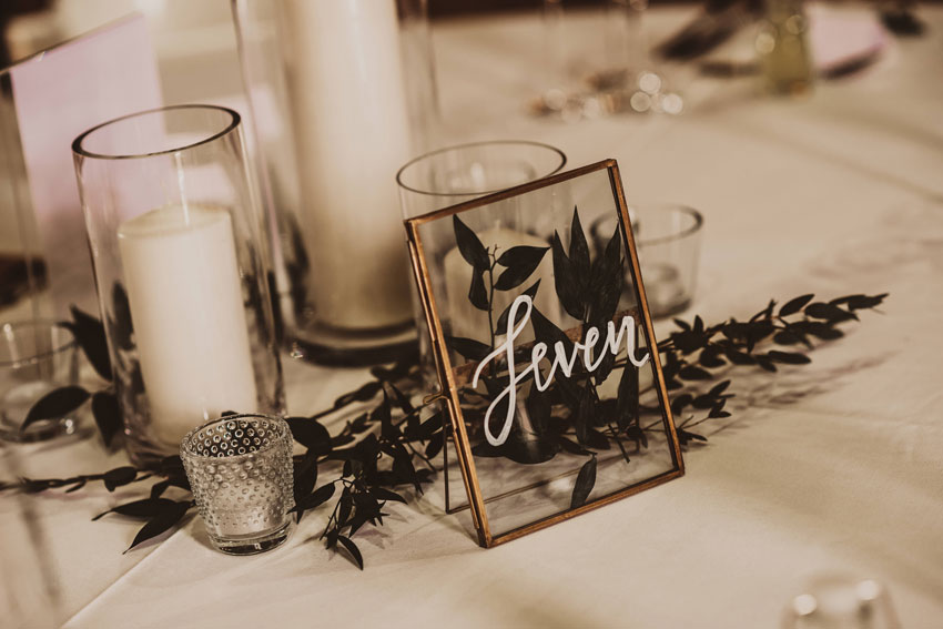 tables setting rustic barn wedding patchwork