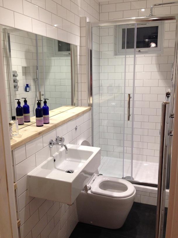 Patchwork new bathroom fund