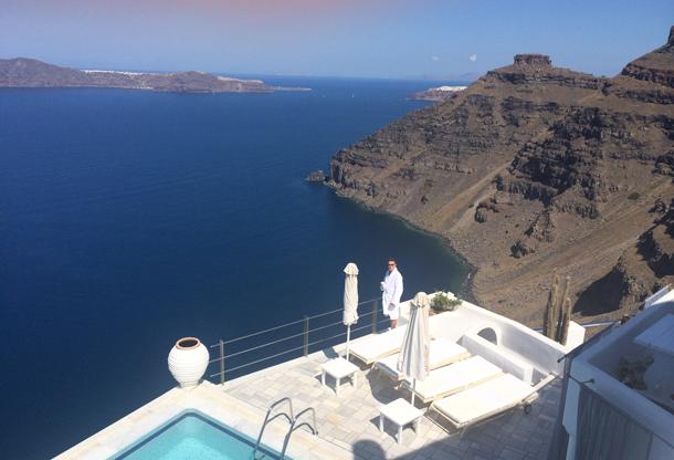 Patchwork Couple Honeymoon Fund Greece