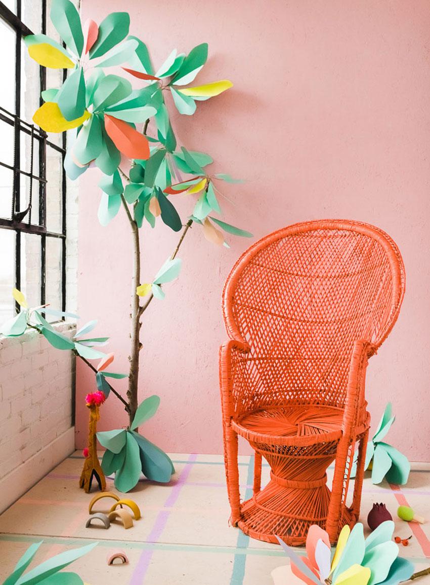 diy-paper-tree-wedding-decor-patchwork