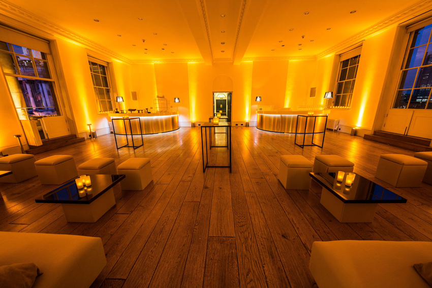 Portico room, Somerset House, wedding venue, Greenwich, London, alternative