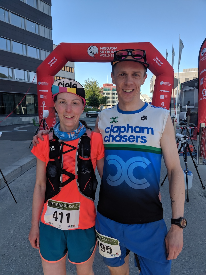 Couple competing in race won honeymoon in Norway