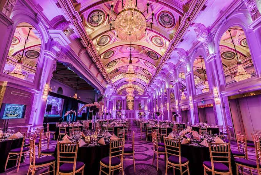 The De Vere Grand Connaught Rooms Wedding Venue