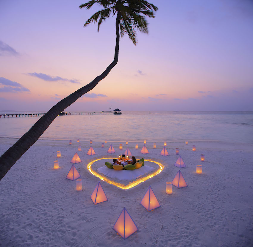 Sunset at Palm Beach, The Maldives