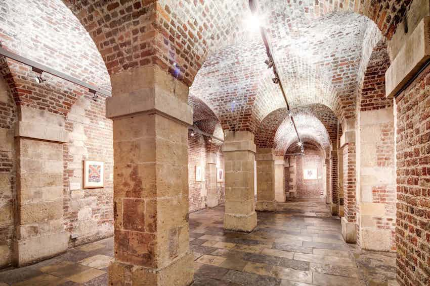 Underground vaults wedding venue St Martin-in-the-Field