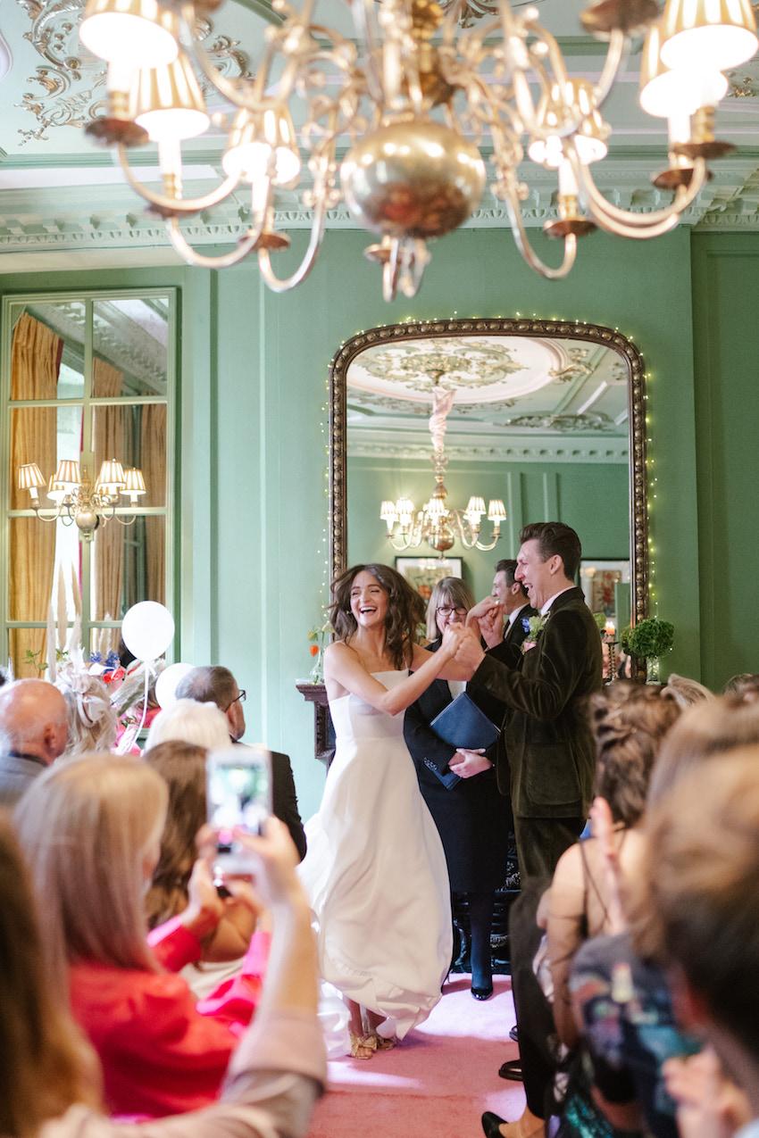 Soho wedding - Patchwork Couple Katie and Matt
