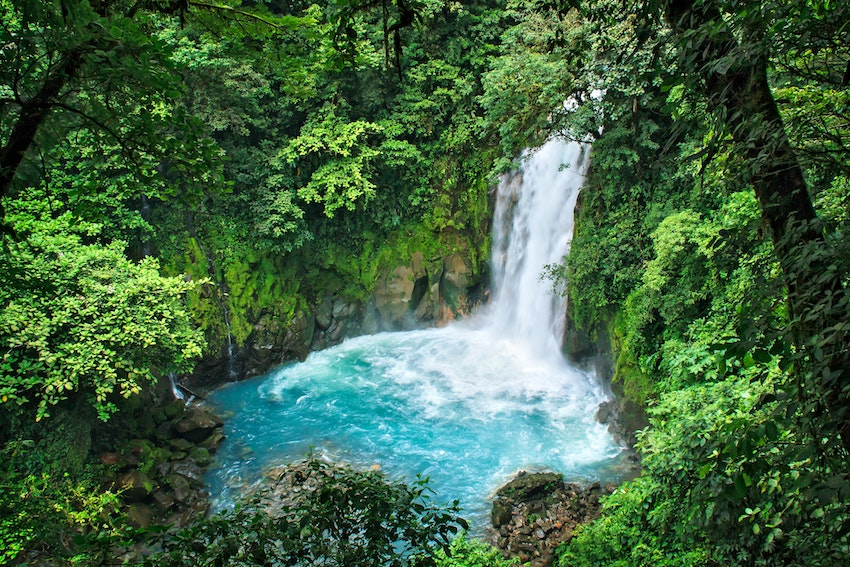 Rio Celeste Waterfall, Costa Rica Honeymoon