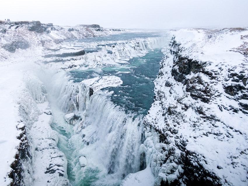 Gullfloss waterfall, Iceland