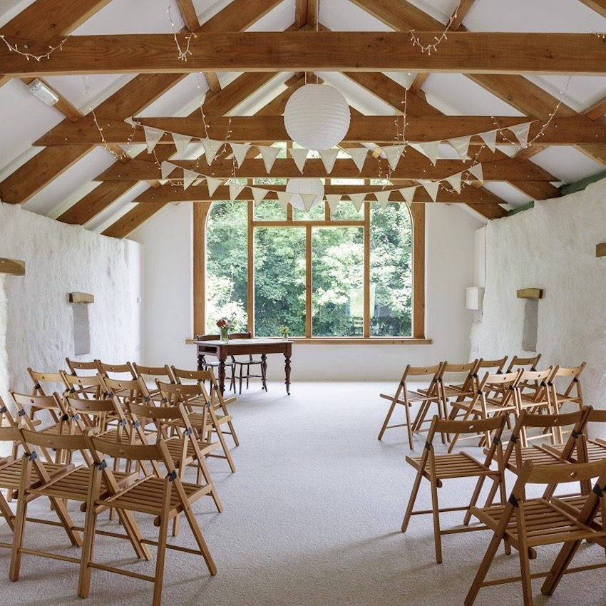 Nantwen, Pembrokeshire intimate wedding venue