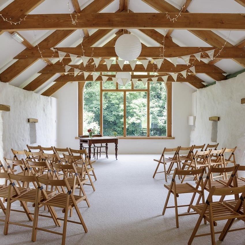 Nantwen, Pembrokeshire intimate wedding venue