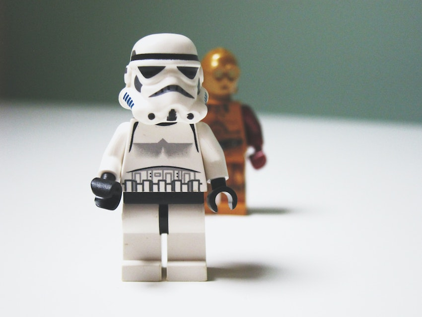 close up image of lego figures