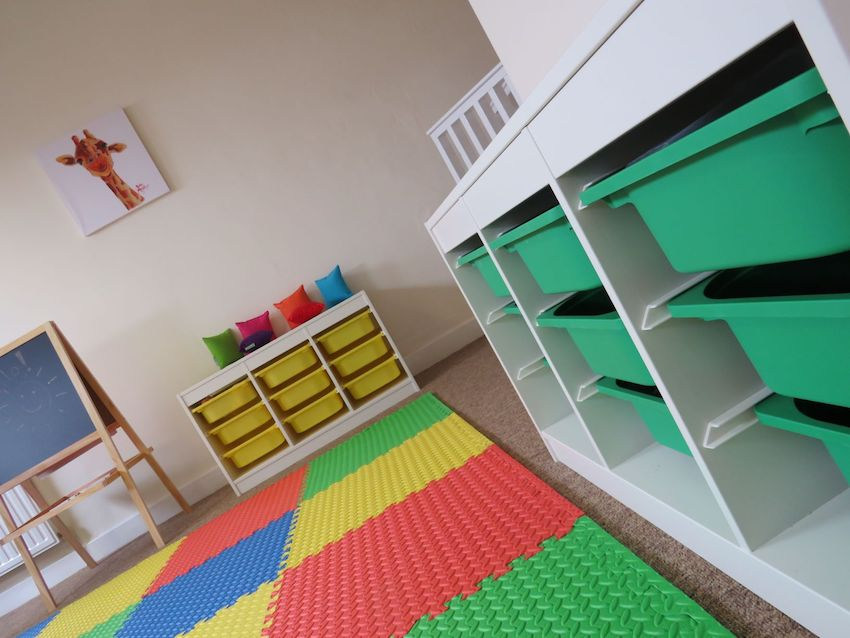 Childrens' service room at new Morecambe CancerCare centre